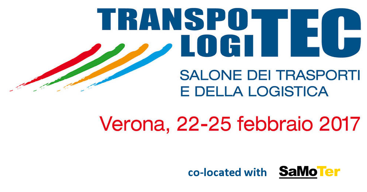 Transpotec Logitec will be returning to Veronafiere from 22 to 25 February 2017