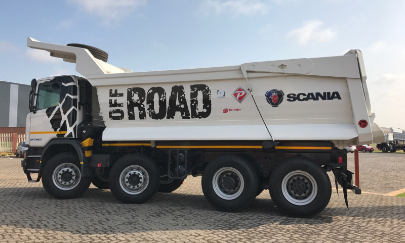 Special Equipment for Scania Truck - South Africa